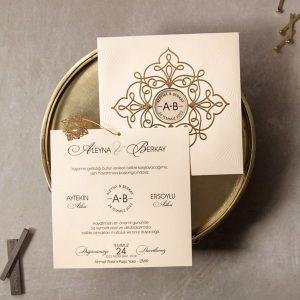 Wedding Davetiye 8326